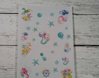 Planner Stickers-Under The Sea Decorative Stickers