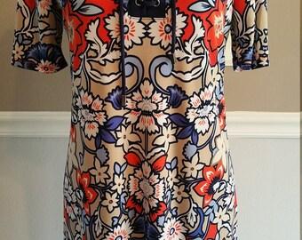 Liz Claiborne Lace Up Shirt Dress. Size PM
