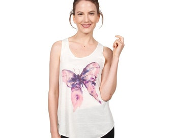 Painted Butterfly Tank Top (TT-192)