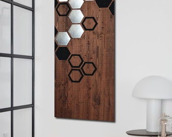 Geometric Metal Wall Art modern wall art metal wall art wall art wood geometric