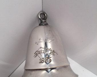 Vintage 1985 Kirk Stieff musical christmas bell