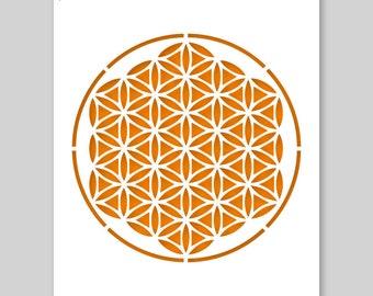 Mandala Stencil A3 42 x 29,7 cm // 16,5 x 11,7 inch