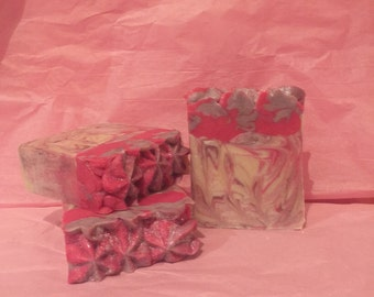 Orchid and Pink Amber Soap