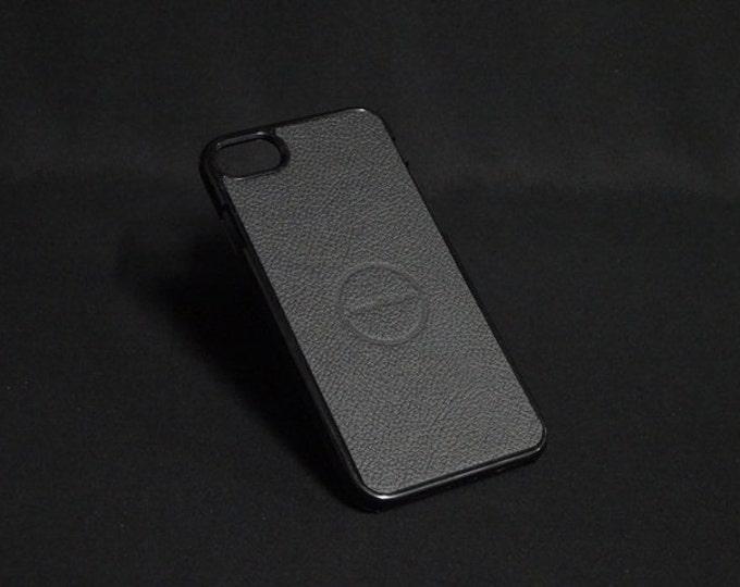 Jimmy Case - Fits Apple iPhone 7 - Black - Kangaroo leather - Handmade - James Watson