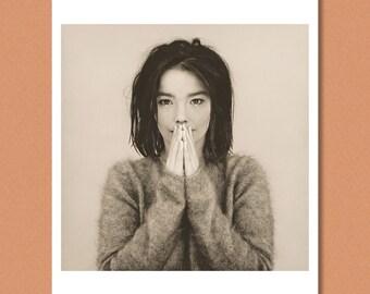 BJÖRK - (Bjork) - 'Debut' Full frame, 1993 - Giclée/Photo print