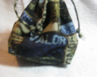 Boo boo bags set, rice and flannel therapy bags,heat therapy bags, cold therapy bags,gift set, drawstring bag, soldiers; heros,camo