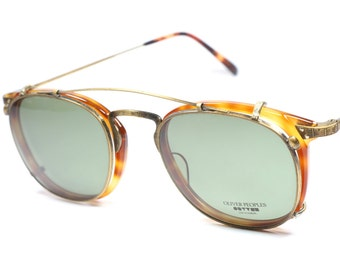 Oliver Peoples OP-26 AG with sun clips!