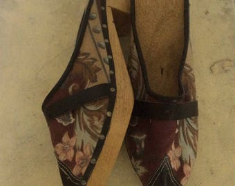 Handmade clogs from The Acores/Portagual