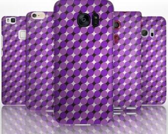 BG0022 Plastic hard case print, personalized/ custom/ personalised phone protective case purple sparkles