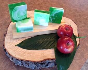 Delicious Apple glycerin soap