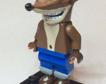 Crash Bandicoot Custom Lego Minifigure Mini Fig