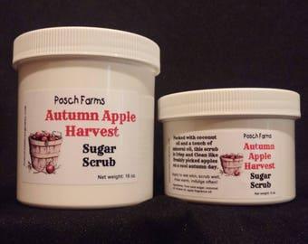 Autumn Apple Harvest Sugar Scrub 8oz