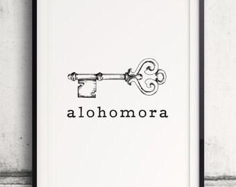 """Shop """"alohomora"""" in Art & Collectibles"""