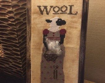 Miss Mary Margaret Wool by The Primitive Hare Chart 2016 Release