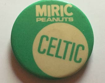 Celtic FC Miric Peanuts Badge