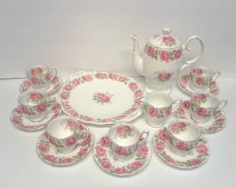 Queen Ann 'Lady Alexander Rose' Coffee Set