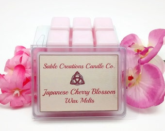 Scented Wax Melts, Japanese Cherry Blossom, Soy Wax Melts, Scented Wax Tarts, Floral Wax Melts, Refreshing Wax Tarts, Calming Wax Melts