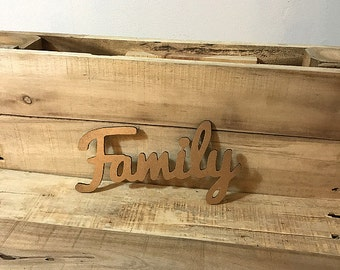 Family cut out