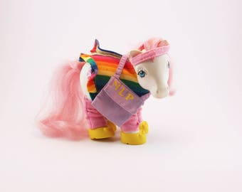 My Little Pony G1 Pony, Flashprance Outfit for Pony, MLP with Original Shoes and Accessories (Pony NOT INCLUDED)