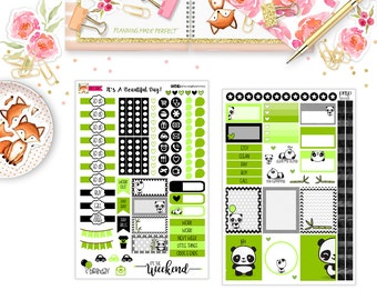 Panda Love Planner Stickers (Set31)