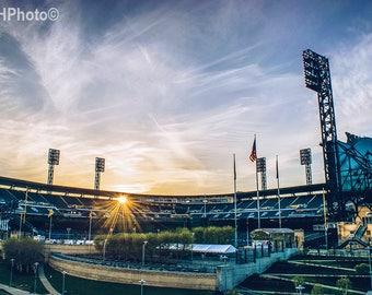Pittsburgh PNC Park Sunset
