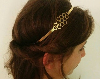 Geometric Headband Etsy