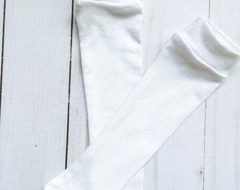 Ring Bearer Outfit. Plain Knee High Socks. Pageant Socks. Gifts for boys. Baptism Gift. Christening. Ring Bearer Gift Ideas for Boys.