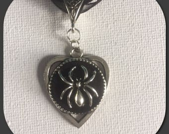 Planchette spider pendant