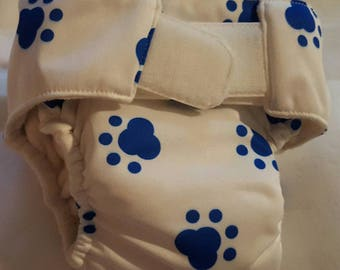 SALE!!! Small stay dry all in one cloth diaper