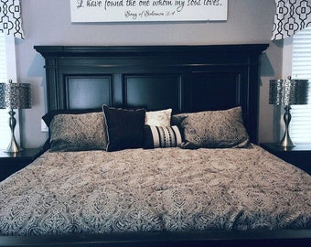 Above Bed Art Etsy