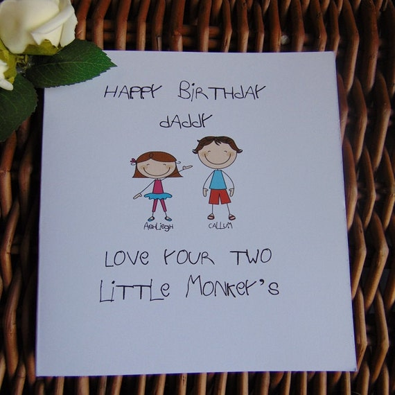 Card For Daddy Fun Card For Dad Happy Birthday Daddy Fathers