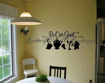 Be Our Guest Wall Decal