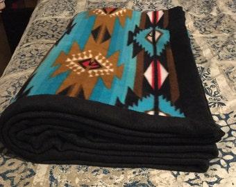 Native Fleece Blanket Etsy
