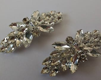 Pair of Pretty Sparkly Shoe Clips