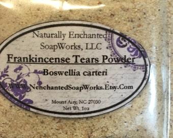 Frankincense Tears Powder, 1oz Frankincense Powder, Boswellia Carteri Powder