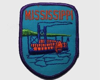 Vintage Mississippi Patch