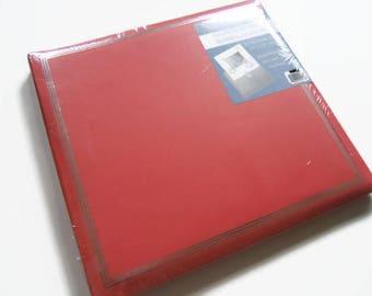 Coral Scrapbook Album - Salmon Scrapbook Album - Coral colored Photo Scrapbook - Salmon colored Photo Scrapbook Album - Wedding Scrapbook