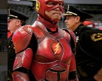 The Flash Justice League Foam Armor Templates
