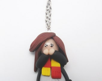 Necklace Hermione Granger from Harry Potter Fimo
