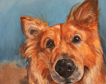 16 x20 Custom Pet Portrait