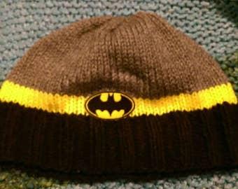 Batman themed Adult Beanie Skullcap