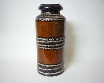 West germany Vintage Mid Century Seventies Retro Scheurich vase 517-30
