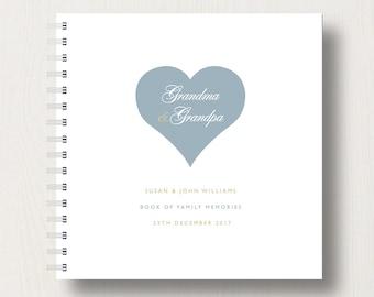 Personalised Grandparents Memories Book or Album