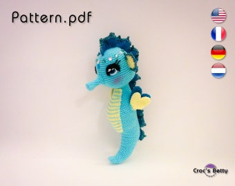 Pattern - Scout the Seahorse