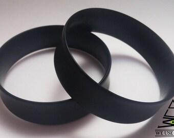 "Ebony Tunnels Plugs Handmade Wooden Ear Plugs Organic Gauges PAIR 5 mm- 75 mm 4 g-3"""