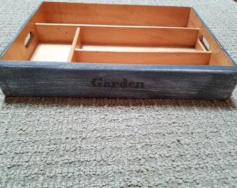 Garden box/ fairy garden box/ outdoor garden box/ indoor garden box/valentines day gift