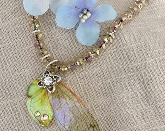 Queen Fairy Wing Necklace