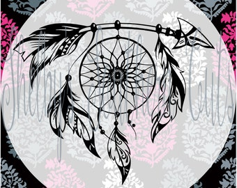 Arrow Dream Catcher SVG EPS DXF