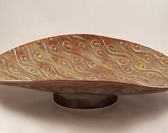 Large, shallow bowl