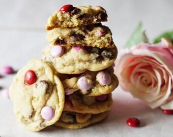 Candy Cookies, M&M Cookies, Chocolate Chip Cookies